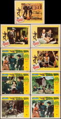 "Movie Posters:Western, Column South & Others Lot (Universal International, 1953).Lobby Cards (9) & Lobby Card Set of 8 (11"" X 14""). Western..... (Total: 17 Items)"