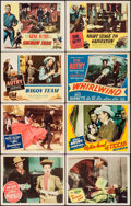 """Movie Posters:Western, Riders in the Sky & Others Lot (Columbia, 1950). Lobby Cards (16) (11"""" X 14""""). Western.. ... (Total: 16 Items)"""