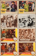 """Movie Posters:Western, Sheriff of Las Vegas & Others Lot (Republic, 1944). Lobby Cards(30) (11"""" X 14""""). Western.. ... (Total: 30 Items)"""