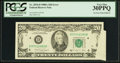 Error Notes:Foldovers, Fr. 2076-D $20 1988A Federal Reserve Note. PCGS Very Fine 30PPQ.. ...