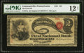National Bank Notes:Pennsylvania, Conneautville, PA - $2 Original Fr. 387a The First NB Ch. # 143....