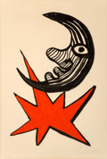 Fine Art - Work on Paper:Print, Alexander Calder (American, 1898-1976)Moon ...