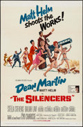 "Movie Posters:Action, The Silencers (Columbia, 1966). One Sheet (27"" X 41"") & UncutPressbook (14 Pages, 11"" X 17""). Action.. ... (Total: 2 Items)"