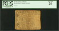 Colonial Notes:Rhode Island, Rhode Island September 5, 1776 $1/2 PCGS Very Fine 20.. ...