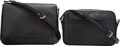 """Luxury Accessories:Bags, Louis Vuitton Set of Two; Black Epi Leather Bags. Very GoodCondition. 11"""" Width x 7.5"""" Height x 2"""" Depth. 9"""" Width x 6"""" H...(Total: 2 )"""