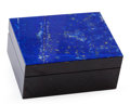 Lapidary Art:Boxes, Lapis Lazuli Box. Stone Source: Afghanistan. Artist: Konstantin Libman. 2.95 x 2.28 x 1.57 inches (7.50 x 5.80 x 4.00 cm)...