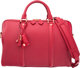 "Louis Vuitton Cherry Red Leather Sofia Coppola Speedy 30 Bag Excellent Condition 12"" Width x 8"" Height x 7&quo..."