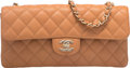 "Luxury Accessories:Bags, Chanel Beige Quilted Caviar Leather East West Flap Bag.Excellent Condition. 10"" Width x 4.5"" Height x 2"" Depth. ..."