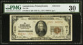 National Bank Notes:Pennsylvania, Lansdowne, PA - $20 1929 Ty. 2 The NB of Lansdowne Ch. # 13151. ...
