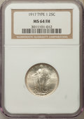 Standing Liberty Quarters, 1917 25C Type One MS64 Full Head NGC. NGC Census: (1372/1137). PCGS Population: (2023/1735). CDN: $400 Whsle. Bid for probl...