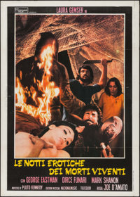 "Sexy Nights of the Living Dead & Other Lot (Stefano Film, 1980). Italian 2 - Foglis (2) (39"" X 55""). A..."