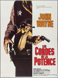 """Movie Posters:Western, Cahill: United States Marshal (Warner Brothers, 1973). FrenchGrande (47"""" X 63""""). Western.. ..."""