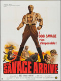 """Movie Posters:Adventure, Doc Savage: The Man of Bronze (Warner Brothers, 1975). French Grande (47"""" X 63""""). Adventure.. ..."""