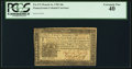 Colonial Notes:Pennsylvania, Pennsylvania March 16, 1785 20s PCGS Extremely Fine 40.. ...