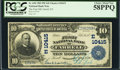 National Bank Notes:Pennsylvania, Farrell, PA - $10 1902 Plain Back Fr. 630 The First NB Ch. #(E)10415. ...