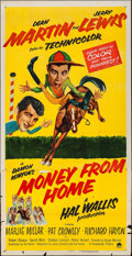 """Movie Posters:Comedy, Money from Home (Paramount, 1954). Three Sheet (40.75"""" X 79"""") 3-DStyle. Comedy.. ..."""