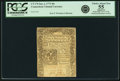 Colonial Notes:Connecticut, Connecticut January 2, 1775 40s Uncancelled PCGS Apparent ChoiceAbout New 55.. ...