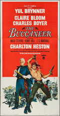 "Movie Posters:Adventure, The Buccaneer (Paramount, 1958). Three Sheet (41"" X 78"").Adventure.. ..."