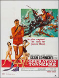 Movie Posters:James Bond, Thunderball (United Artists, R-1980s). French Gran...