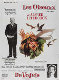 "Movie Posters:Hitchcock, The Birds (Universal, R-1985). French Grande (45.5"" X 62"").Hitchcock.. ..."