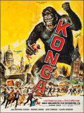 """Movie Posters:Science Fiction, Konga (Rene Chateau, 1961). French Grande (46"""" X 61.25""""). ScienceFiction.. ..."""