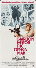 "Movie Posters:Science Fiction, The Omega Man (Warner Brothers, 1971). International Three Sheet(41"" X 76.5""). Science Fiction.. ..."