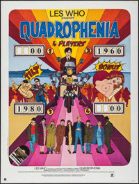 """Quadrophenia (Parafrance, 1979). French Grande (47"""" X 63""""). Rock and Roll"""