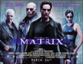 "Movie Posters:Science Fiction, The Matrix (Warner Brothers, 1999). Subway (46"" X 60""). Advance.Science Fiction.. ..."