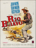 "Movie Posters:Western, Rio Bravo (Warner Brothers, R-1964). French Grande (47"" X 63""). Western.. ..."