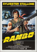 "Movie Posters:Action, First Blood & Other Lot (Medusa, 1982). Italian 2 - Foglis (2)(39.25"" X 55"" & 39.5"" X 55""). Action. Alternate Title:Ramb... (Total: 2 Items)"