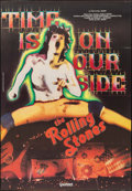 "Movie Posters:Rock and Roll, Rolling Stones: Time is on Our Side (Gaumont, 1983). Italian 2 - Fogli (38"" X 55""). Rock and Roll.. ..."