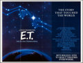 "Movie Posters:Science Fiction, E.T. The Extra-Terrestrial (Universal, R-1985). Subway (44.5"" X59.5"") Advance. Science Fiction.. ..."