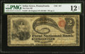 National Bank Notes:Pennsylvania, Selins Grove, PA - $2 Original Fr. 387 The First NB Ch. # 357. ...