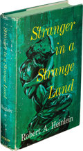 Books:Science Fiction & Fantasy, Robert A. Heinlein. Stranger in a Strange Land. New York: G. P. Putnam's Sons, [1961]. First edition with C22 on pag...