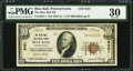 National Bank Notes:Pennsylvania, Blue Ball, PA - $10 1929 Ty. 1 The Blue Ball NB Ch. # 8421. ...