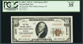 National Bank Notes:Montana, White Sulphur Springs, MT - $10 1929 Ty. 1 The First NB Ch. # 3375. ...