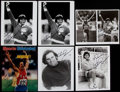 Autographs:Photos, Bruce Jenner Signed Photograph Collection (6)....