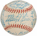 Autographs:Baseballs, 1948-49 St. Louis Cardinals Team Signed Baseball (26 Signatures)....