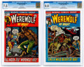 Bronze Age (1970-1979):Horror, Werewolf by Night #1 and 2 CGC-Graded Group (Marvel, 1972)....(Total: 2 Comic Books)