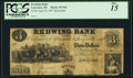 Obsoletes By State:Kansas, Lawrence, KS - Redwing Bank $3 Apr. 18, 1857 Remainder G6a. ...