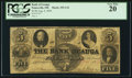 Obsoletes By State:Ohio, Painesville, OH - Bank of Geauga Counterfeit $5 Aug. 4, 1859 C24....