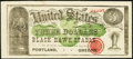 Obsoletes By State:Oregon, Portland, OR- Black Hawk Stable Ad Note $3 Jan. 31, 1880. ...