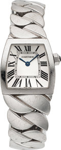 Estate Jewelry:Watches, Cartier Lady's White Gold La Dona Watch. ...
