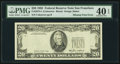 Error Notes:Missing Third Printing, Missing Third Printing Error Fr. 2075-L $20 1985 Federal Reserve Note. PMG Extremely Fine 40 EPQ.. ...