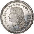 1879 $4 Flowing Hair Four Dollar, Judd-1637, Pollock-1835, High R.7, PR67 PCGS. CAC....(PCGS# 62015)