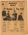 Music Memorabilia:Memorabilia, Beatles - A Copy of Mersey Beat Vol. 1, No. 13 (UK, 1962).One of Only Three Copies Known to Exist....