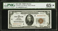 Fr. 1870-A $20 1929 Federal Reserve Bank Note. PMG Gem Uncirculated 65* EPQ