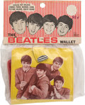Music Memorabilia:Memorabilia, Beatles Wallet in Original Package (1964)....