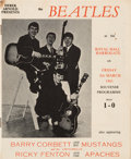 Music Memorabilia:Memorabilia, Beatles Harrogate Royal Hall Concert Program (March 8, 1963). ...