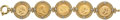 Estate Jewelry:Bracelets, Gold Coin, Gold Bracelet . ...